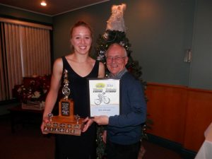 Erin Attwell, U19 & Fastest Female