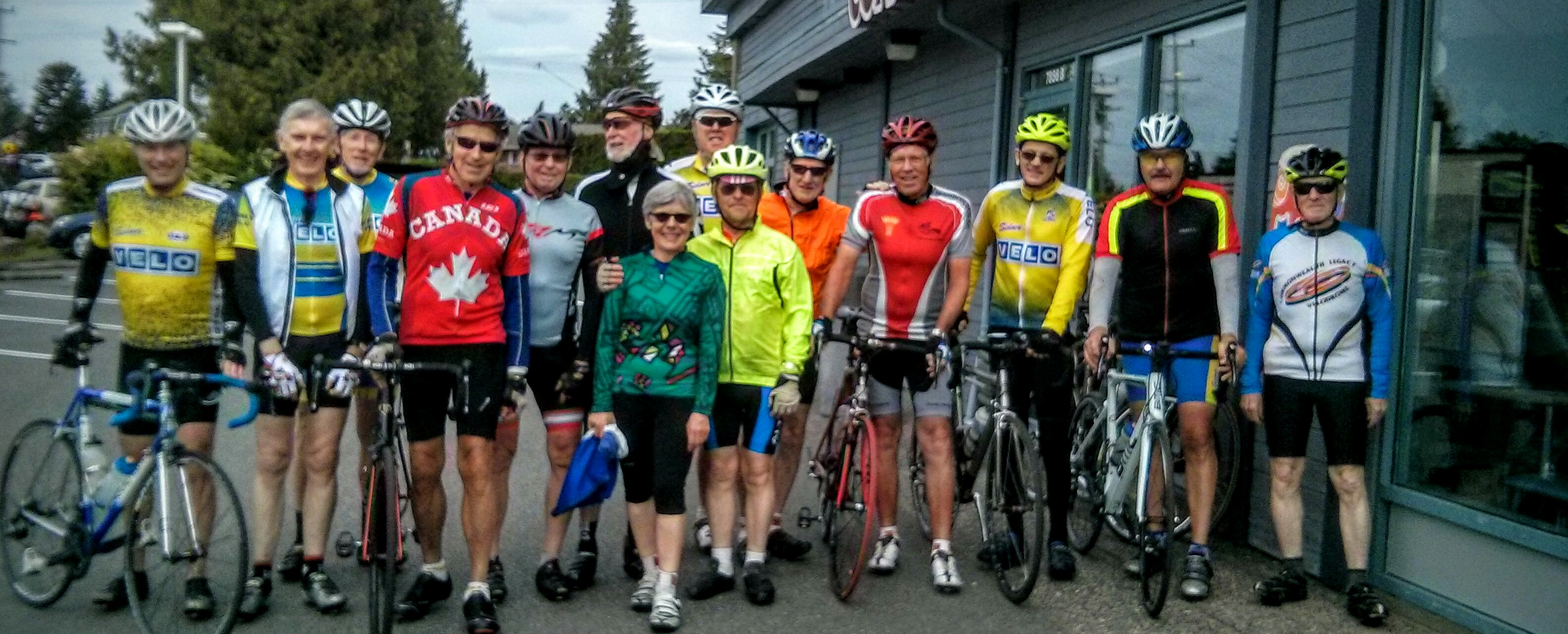 Saturday Club Ride