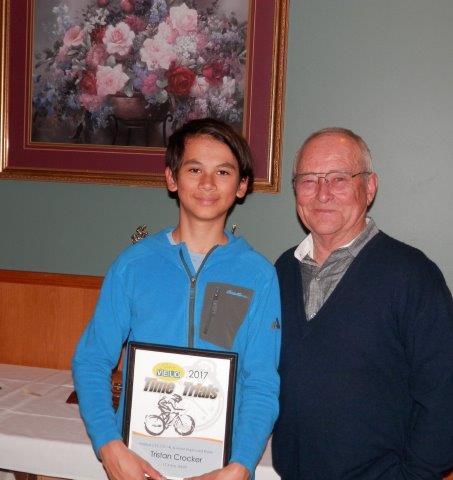 Tristan Crocker, U15 (13-14) & Most Improved Rider