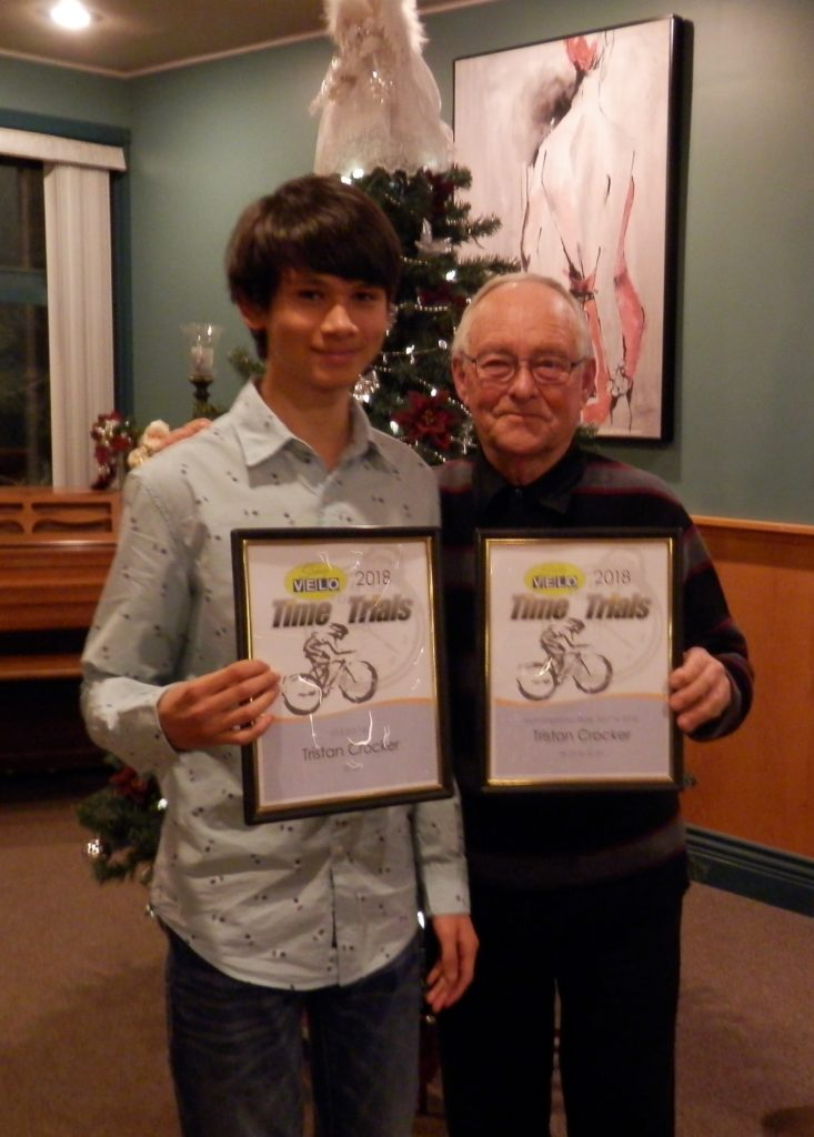 Tristan Crocker, U15 (13-14) & Most Improved Rider